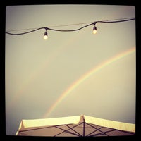 Photo taken at VBGB Beer Hall & Garden/Restaurant by Meredith A. on 7/28/2012