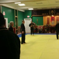 Photo taken at Kwan's Kung Fu Studio by Greg M. on 1/18/2012