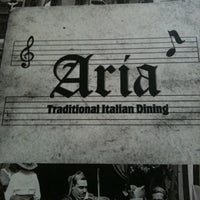 Photo taken at Aria Traditional Italian Restaurant by May W. on 4/20/2011