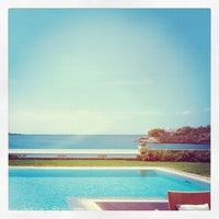 Photo taken at Grand Resort Lagonissi by Phoebus I. on 8/22/2012