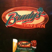 Photo taken at Brady's Tavern by Kate W. on 1/11/2012