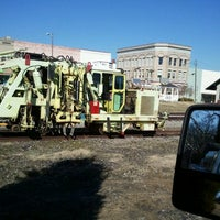 Photo taken at railroad by Philip D. on 1/31/2012