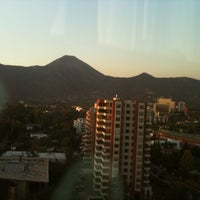 Photo taken at Courtyard by Marriott Santiago Las Condes by Pamela T. on 3/16/2011