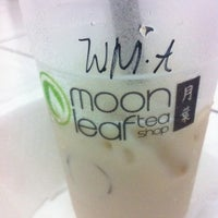 Photo taken at Moonleaf Tea Shop by John Carl G. on 7/22/2011