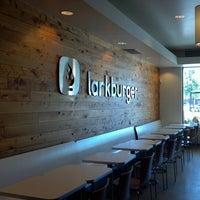 Photo taken at Larkburger by Jonathan R. on 9/3/2012