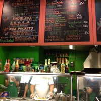 Photo taken at B&T Mexican Kitchen by Roachy D. on 8/19/2012