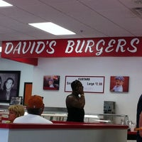 Photo taken at David's Burgers by Delaney L. on 8/6/2011