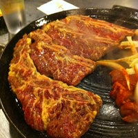 Photo taken at Honey Pig Gooldaegee Korean Grill by Ching Y. on 12/28/2011