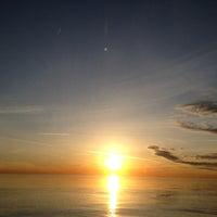 Photo taken at Clark Street Beach by Per J. on 2/13/2012