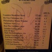 Photo taken at D's Six Pax & Dogz by Monica T. on 1/27/2011