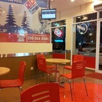 Photo taken at Domino's Pizza by Frans S. on 7/13/2012