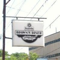 Photo taken at Brown's Diner by Julie on 4/18/2012