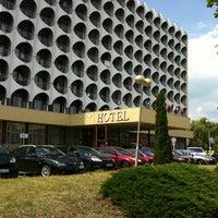 Photo taken at Hotel Ezüstpart by Balázs R. on 7/22/2012