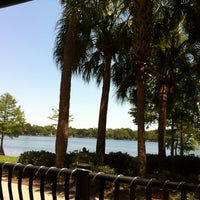 Photo taken at Relax Grill At Lake Eola by Mike L. on 6/28/2012