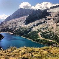 Photo taken at Lago Fedaia by Mauro F. on 8/18/2012