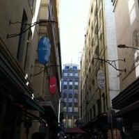 Photo taken at Degraves Street by Winterchild on 10/3/2011