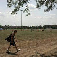 Photo taken at intramural fields by Scott M. on 7/7/2012