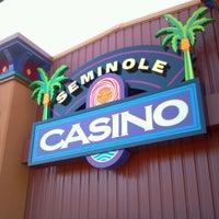 Photo taken at Seminole Casino by Mary V. on 1/21/2012