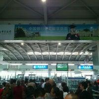 Photo taken at Dalian Zhoushuizi International Airport (DLC) by Daton L. on 10/12/2011