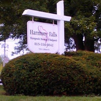 Photo taken at Harmony Falls, A Therapeutic Oasis by K. K. on 8/20/2011