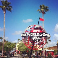 Photo taken at ESPN Wide World of Sports Complex by Hector S. on 3/22/2012