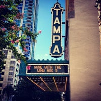 Photo taken at Tampa Theatre by Pris C. on 7/30/2012