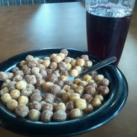 Photo taken at East Campus Dining Hall by Melissa H. on 8/28/2012