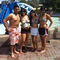 Photo taken at Splashtown by Anil S. on 7/7/2012
