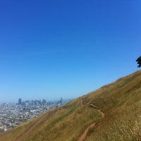 Photo taken at Bernal Heights Park by Christopher S. on 5/12/2012