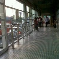 Photo taken at Halte TransJakarta Pondok Pinang by Mentari P. on 8/15/2012