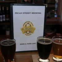 Photo taken at Pecan Street Brewing Co. by Cindy B. on 1/20/2012
