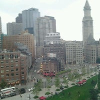 Photo taken at Boston Harbor Hotel by wallace s. on 7/28/2012