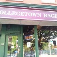 Photo taken at Collegetown Bagels by Mirko P. on 7/22/2012