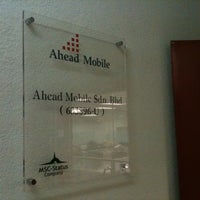 Photo taken at Ahead Mobile by Joey C. on 3/4/2011