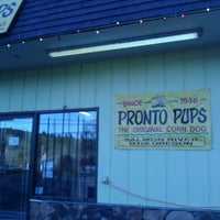 Photo taken at Pronto Pups by Tami K. on 12/7/2011