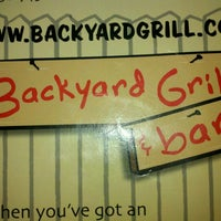 ... Photo Taken At Backyard Grill U0026amp;amp; Bar By Gene T. On 6 ...
