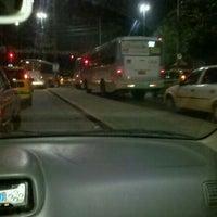 Photo taken at Obras Transcarioca Campinho by Andrezza M. on 1/14/2012