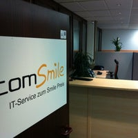 Photo taken at comSmile GmbH by Daniel B. on 1/17/2011