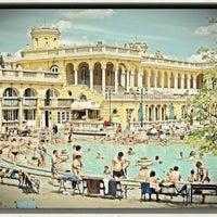 Photo taken at Széchenyi Thermal Bath by Meg R. on 4/23/2012
