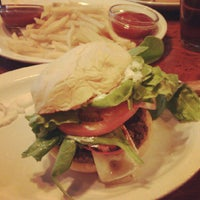 Photo taken at The Burger Saloon by sarah mel on 6/1/2012