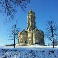 Снимок сделан в Усадьба князей Голицыных в Дубровицах пользователем Fil 1/29/2012