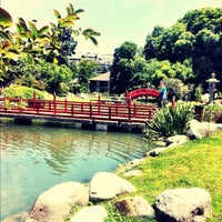 Photo taken at Jardín Japonés by Glaysianne A. on 12/1/2011