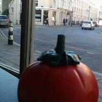 Photo taken at Gourmet Burger Kitchen by Penelope B. on 9/27/2011