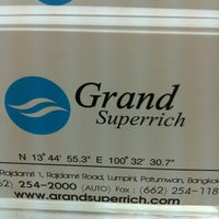 Photo taken at Grand Superrich by Tee T. on 5/2/2012