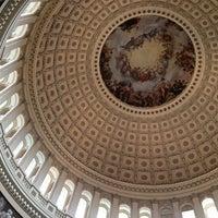 Photo taken at Rotunda of the U.S. Capitol by John B. on 10/22/2011