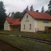 Photo taken at Železniční stanice Velký Luh by Honza P. on 7/5/2011