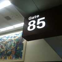 Photo taken at Gate 85 by Chase M. on 9/6/2011