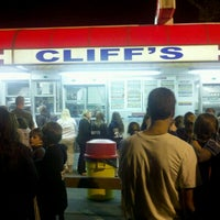 Photo taken at Cliff's Homemade Ice Cream by Richard B. on 5/19/2012