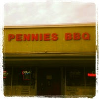 Photo taken at Pennie's BBQ by Joshua F. on 5/29/2012