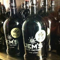 Photo taken at Jem's Beer Factory by Ram C. on 12/21/2011